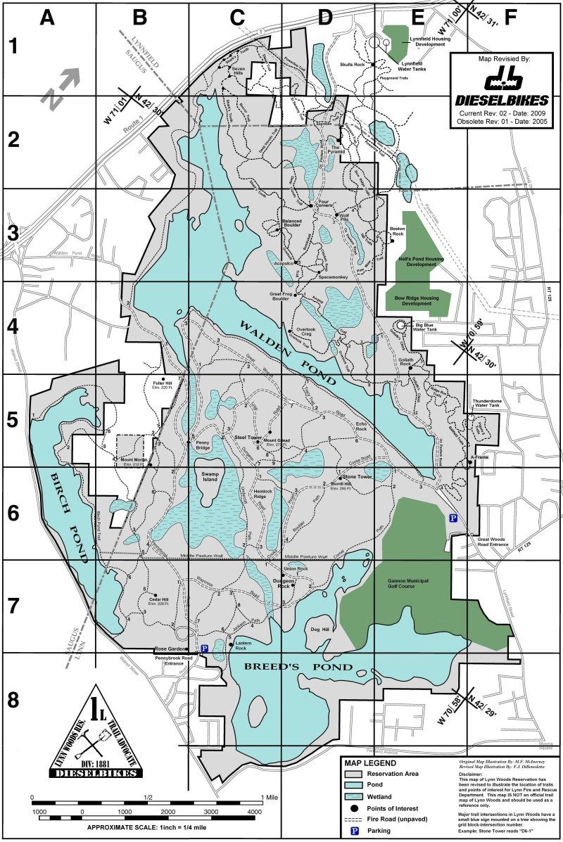 Northern MassSouthern NH Hikes With Dog - Southern nh map